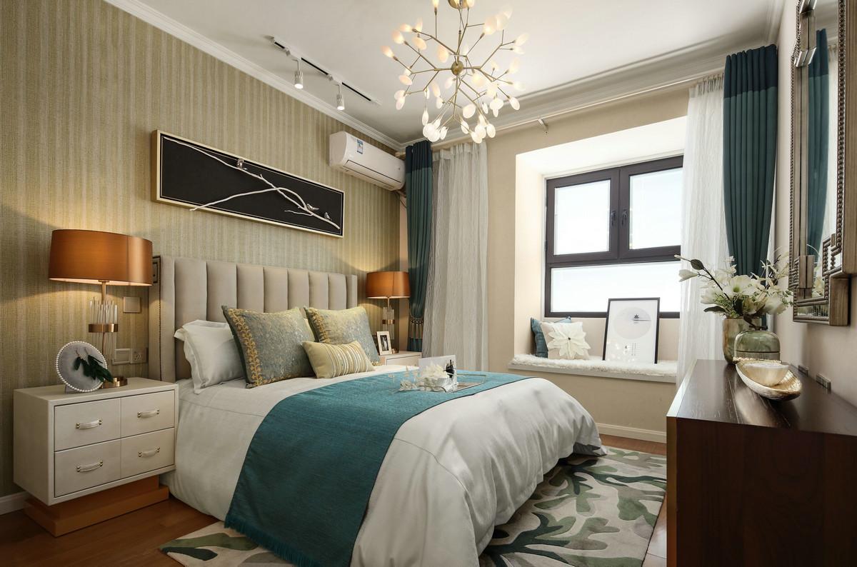 80后 卧室图片来自唯真装饰在典雅中式风的分享