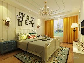 二居 80后 小资 地中海 卧室图片来自乐豪斯实景体验馆在地中海风格,家里的碧海蓝天!的分享