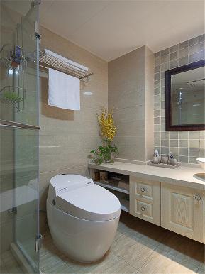 中式 三居 四居 大户型 公寓 复式 小资 卫生间图片来自高度国际姚吉智在140平米新中式如兰似茶东方韵味的分享