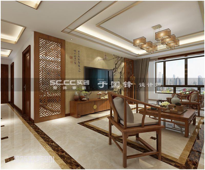 翠海宜居 实创装饰 客厅图片来自实创装饰集团青岛公司在翠海宜居145平+地下户型装修的分享