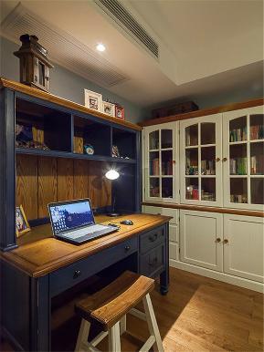 中式 三居 四居 大户型 公寓 复式 小资 书房图片来自高度国际姚吉智在140平米新中式如兰似茶东方韵味的分享