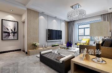 郑州泰宏国际城119平房装修案例