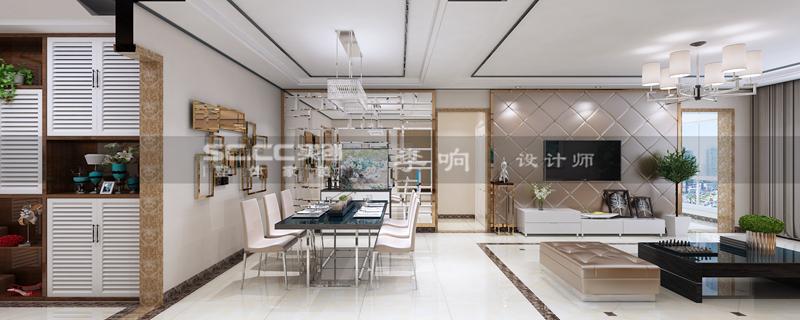 现代 奢华 实创 晓港名城 客厅图片来自快乐彩在晓港名城五期223平现代奢华装修的分享