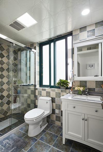 卫生间图片来自家装大管家在90平极简北欧居 舒适惬意永相随的分享