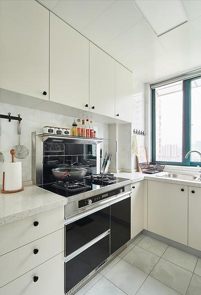 厨房图片来自家装大管家在90平极简北欧居 舒适惬意永相随的分享
