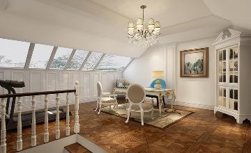 康桥半岛260平别墅装修设计方案