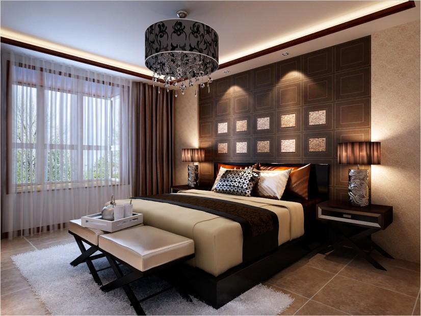 峰光无限装 中式装修 西安装修公 装修公司 卧室图片来自陕西峰光无限装饰在富力城176㎡新中式的分享