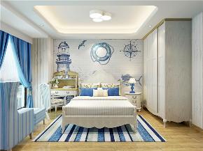 地中海 80后 小资 卧室图片来自东大家居设计在恒地悦山湖地中海的分享