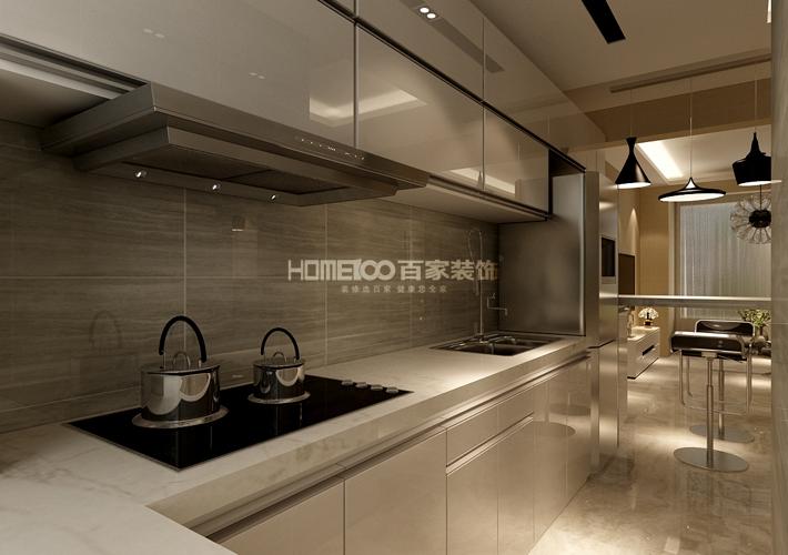 厨房图片来自沈阳百家装饰小姜在昆山豪庭82平港式风格的分享
