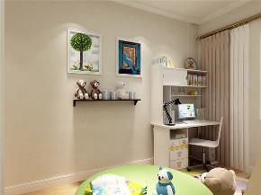 简约 现代 二居 收纳 小资 儿童房图片来自阳光力天装饰在力天装饰-天房意境-91㎡-现代的分享