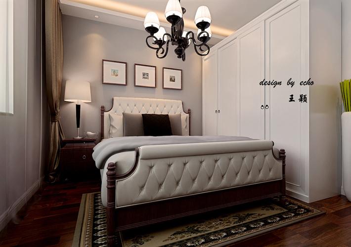 三居 东大迎湖苑 现代风格 卧室图片来自百家设计小刘在东大迎湖苑137平现代风格的分享