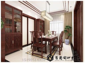 海韵花都180平新中式四居室
