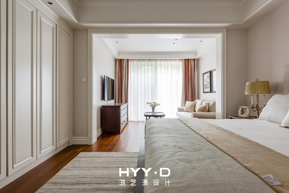 简美风格 复式 星河丹堤 老人房 卧室图片来自郑鸿在赏星悦木--深圳星河丹堤室内设计的分享