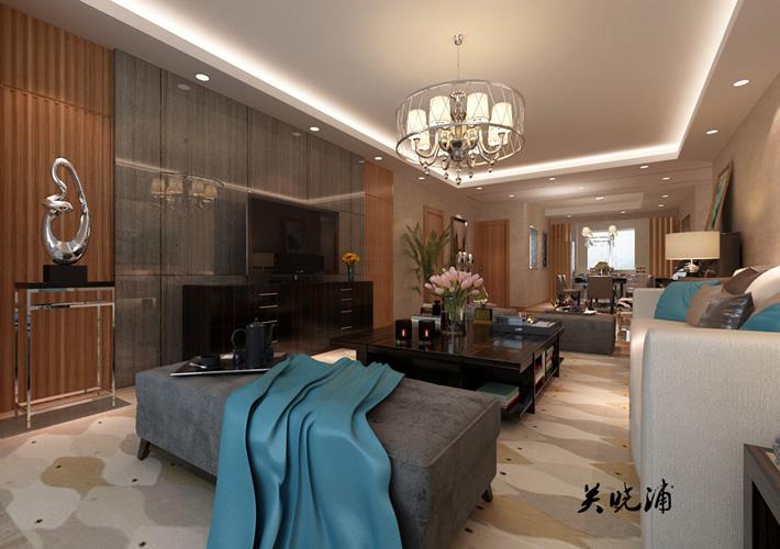 卧室图片来自沈阳百家装饰小姜在地王国际117平现代奢华效果图的分享