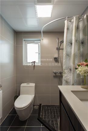 简约 现代 港式 四居 收纳 卫生间图片来自四川欢乐佳园装饰在【设•界】他和她的蓝色现代生活的分享