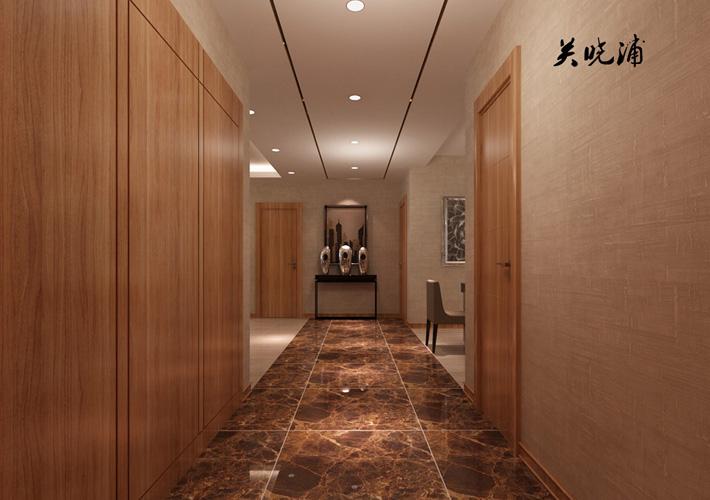 玄关图片来自沈阳百家装饰小姜在地王国际117平现代奢华效果图的分享