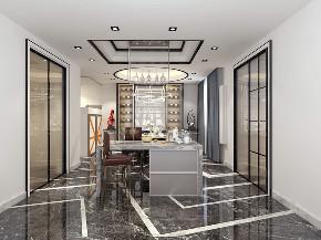 简约 现代 复式 LOFT 大理石 后现代 80后 小资 白领 厨房图片来自圣奇凯尚室内设计工作室在圣奇凯尚装饰-后现代风复式案例的分享