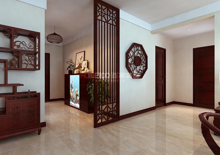 客厅图片来自沈阳百家装饰小姜在东大迎湖园157平新中式风格的分享