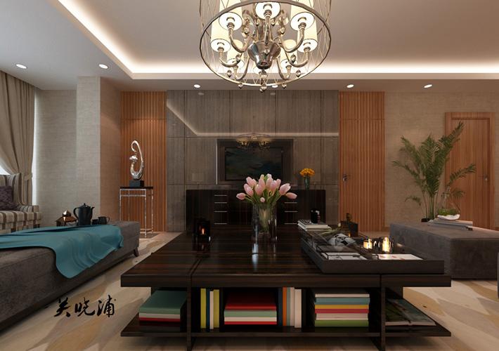 客厅图片来自沈阳百家装饰小姜在地王国际117平现代奢华效果图的分享