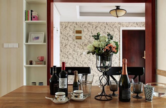三居 简约 餐厅图片来自唯真装饰在广电兰亭时代三居室的分享