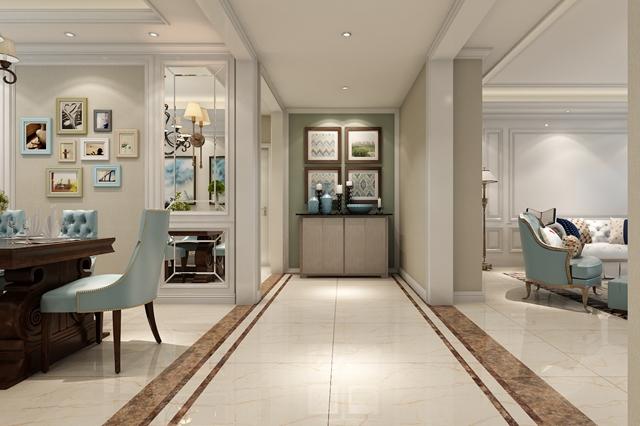 客厅图片来自峰光无限装饰大鹏在大华公园世家220㎡美式风格的分享
