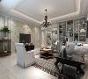 客厅空间给人感觉明亮宽敞,电视墙面简单的线条造型与碎花壁纸装饰,自然舒适。