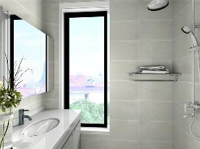简约 现代 二居 白领 小资 卫生间图片来自阳光力天装饰在力天装饰-南益名士华庭-90㎡的分享