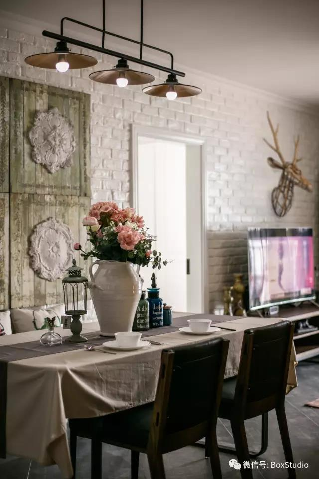 北欧 简约 三居 旧房改造 80后 小资 餐厅图片来自盒子设计在森林系北欧的分享