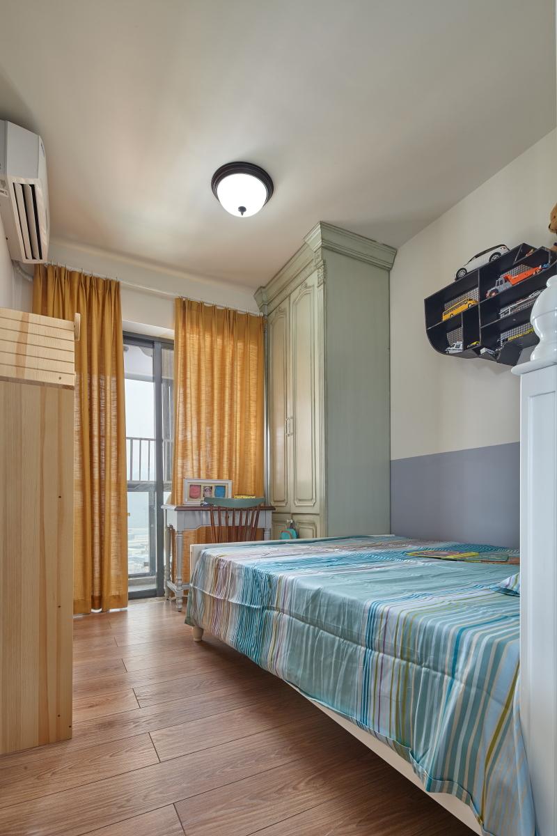 简约 混搭 二居 旧房改造 田园 收纳 卧室图片来自盒子设计在觅的分享
