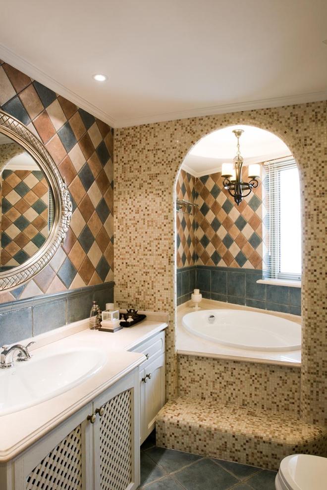 混搭 卫生间图片来自唯真装饰在广电兰亭时代的分享