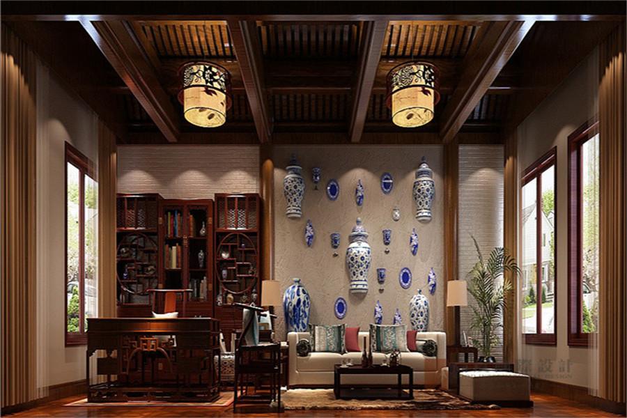 中式 别墅 大户型 跃层 复式 舒适 其他图片来自高度国际姚吉智在龙山新新小镇800㎡新中式大宅的分享