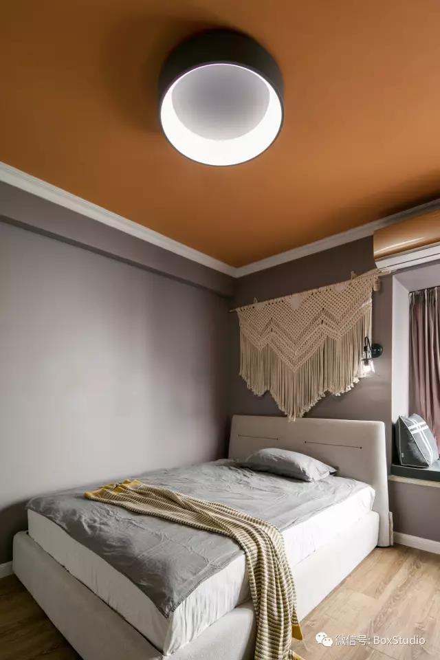 北欧 简约 三居 旧房改造 80后 小资 卧室图片来自盒子设计在森林系北欧的分享
