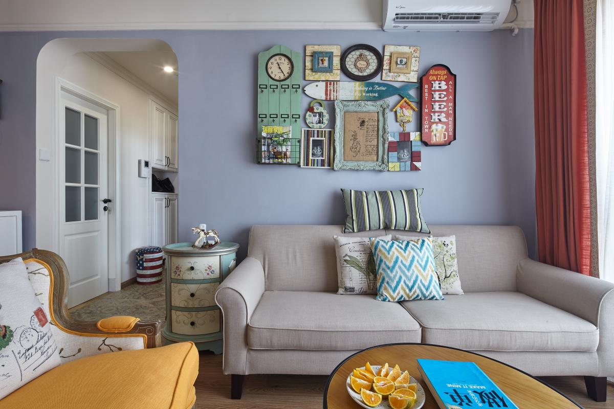 简约 混搭 二居 旧房改造 田园 收纳 客厅图片来自盒子设计在觅的分享