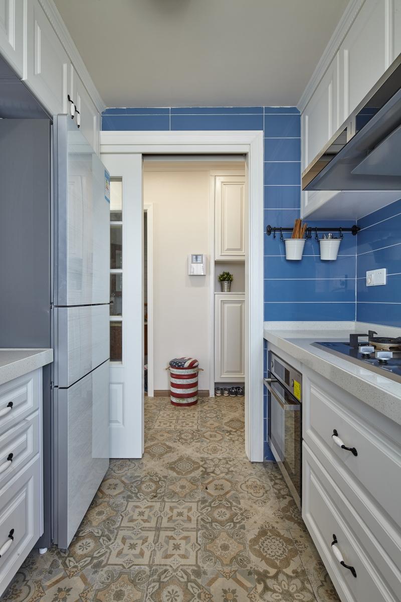 简约 混搭 二居 旧房改造 田园 收纳 厨房图片来自盒子设计在觅的分享