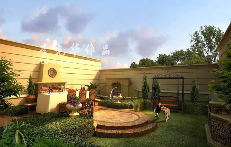 花园设计 园林设计 别墅设计 其他图片来自李光华在花园、园林设计集合的分享