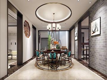 别墅装修禅意中式风格设计