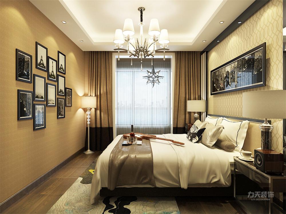 现代 三居 三口之家 户型紧凑 动静分明 卧室图片来自阳光力天装饰在力天装饰-东亚风尚国际-99㎡的分享