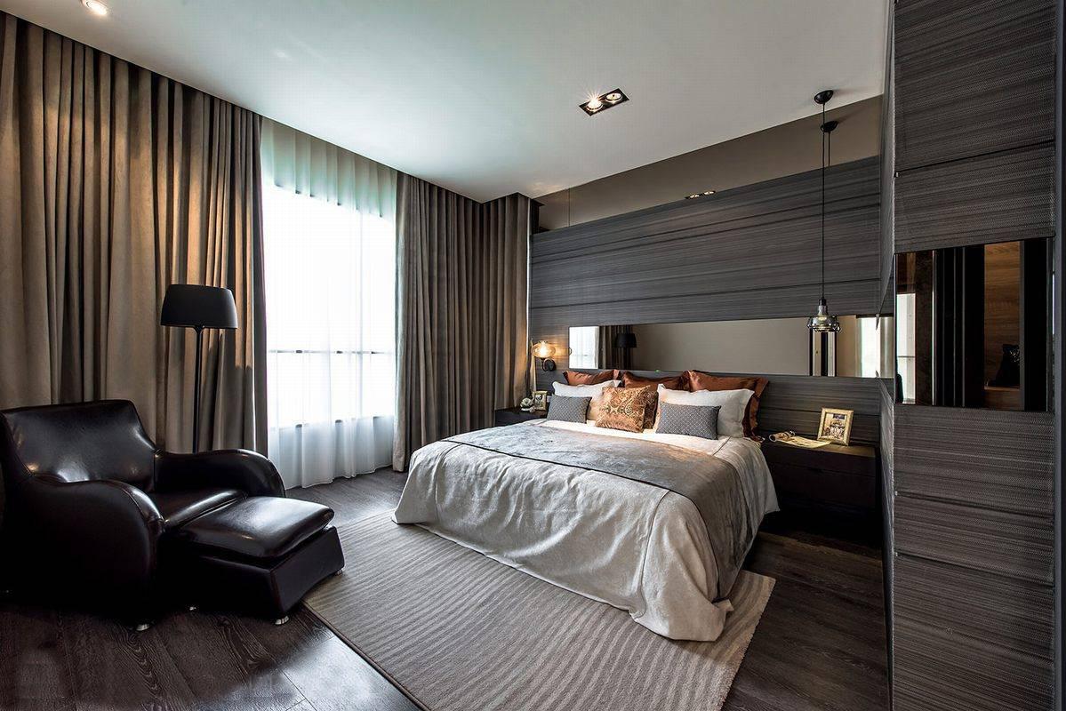 四居 峰光无限 简约 现代 卧室图片来自我是小样在缤纷南郡四居室156平现代简约的分享