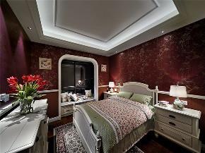 美式 三居 四居 大户型 复式 跃层 别墅 小资 儿童房图片来自高度国际姚吉智在170平米美式复古心中梦想的城堡的分享