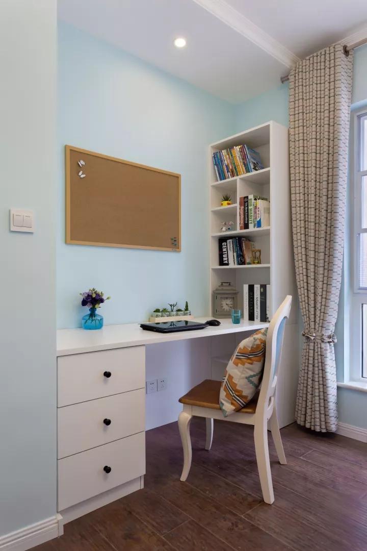 书房图片来自甘肃紫苹果装饰在现代美式给你不一样的感觉的分享