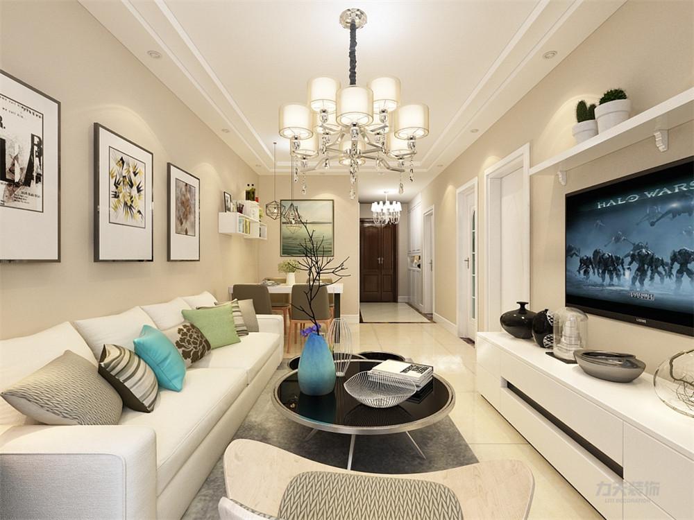 简约 现代 二居 采光 温馨 客厅图片来自阳光力天装饰在力天装饰-金地艺境-80㎡的分享