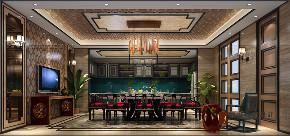 中式 别墅 跃层 大户型 复式 高帅富 80后 厨房图片来自高度国际姚吉智在观塘1000㎡轻奢中式别墅宅院的分享