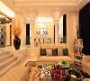 浪漫温馨的客厅