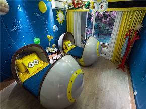 现代 三居 四居 大户型 复式 跃层 别墅 小资 儿童房图片来自高度国际姚吉智在167平米现代轻奢时尚高贵的生活的分享