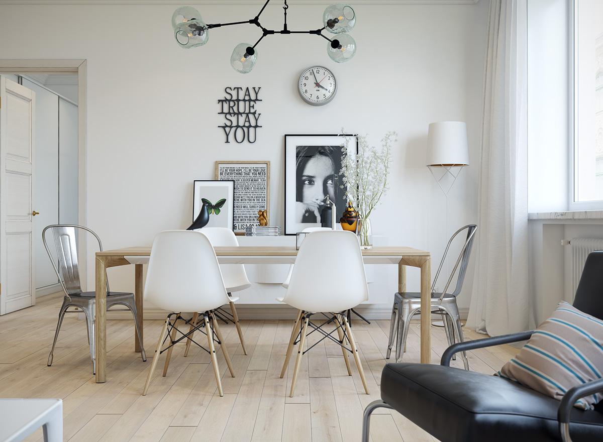 三居 欧式 峰光无限 餐厅图片来自西安峰光无限装饰在秦岭北麓三居95平北欧风格设计的分享