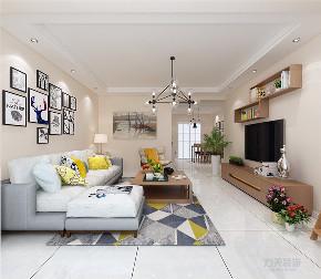 简约 现代 三居 温馨 年轻 客厅图片来自阳光力天装饰在力天装饰-海御园-90㎡的分享