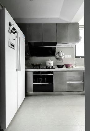 北欧 混搭 三居 白领 厨房图片来自家装大管家在89平北欧时尚空间 年轻人的最爱的分享