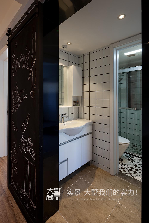 卫生间图片来自大墅尚品-由伟壮设计在清爽北欧公寓·初夏的海风的分享