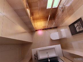 简约 现代 二居 收纳 小资 卫生间图片来自阳光力天装饰在力天装饰-宏城御溪园-125㎡-简约的分享