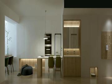 小空间│引景入室,木质感公寓